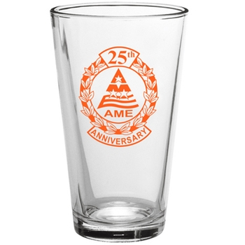 Бокал Clear Pint Printed Glassware